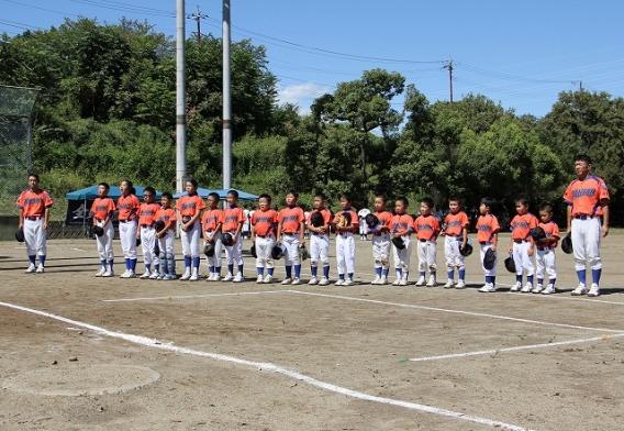 2017年9月18日 甲府市野球部会大会準々決勝